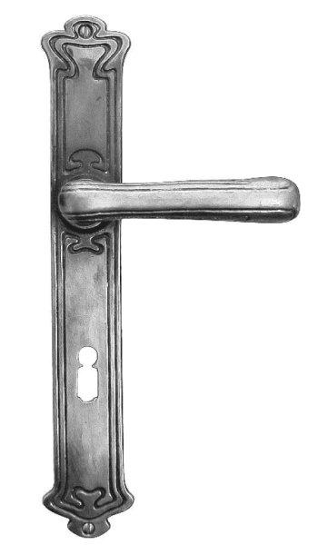 Türschild, Maße: 242 x 44 mm, Messing Bild1