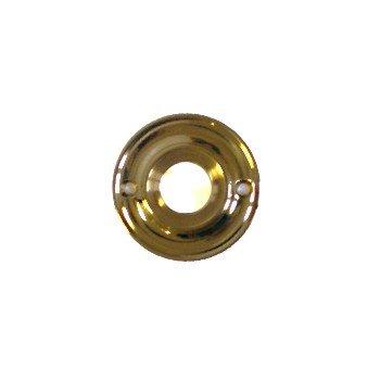 Drückerrosette Messing glänzend Durchmesser 50 mm der Serie TR112 Bild1
