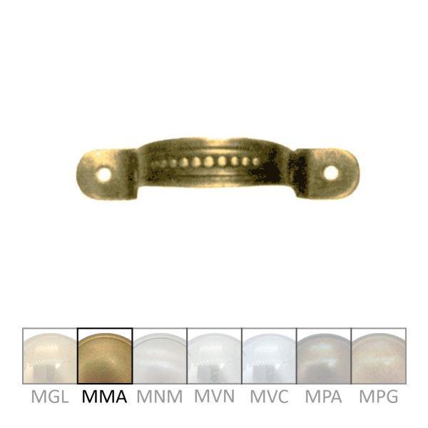 Möbelgriff, MMA, Maße B x H - 50 x 10 mm der Serie GR019 Bild1
