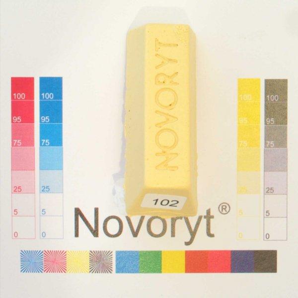 NOVORYT® Schmelzkitt - Farbe 102 hellelfenbe 1 Stange der Serie HW003 Bild1