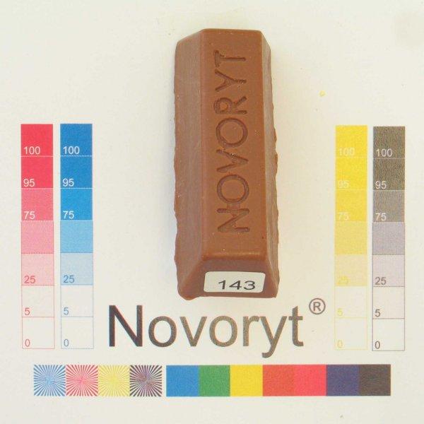 NOVORYT® Schmelzkitt - Farbe 143 Ulme 1 Stange der Serie HW003 Bild1