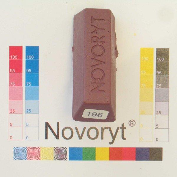 NOVORYT® Schmelzkitt - Farbe 196 brombeere 1 Stange der Serie HW003 Bild1