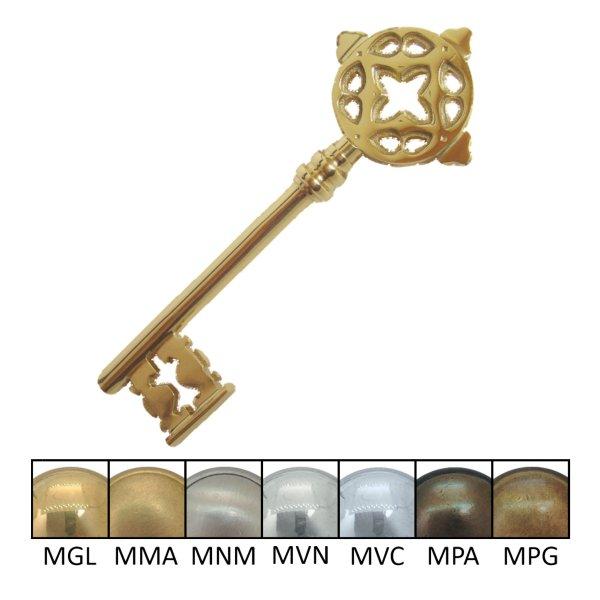 Zierschlüssel für Architekten und Bauunternehmen der Serie ZS001 ohne Schatulle. Bild1