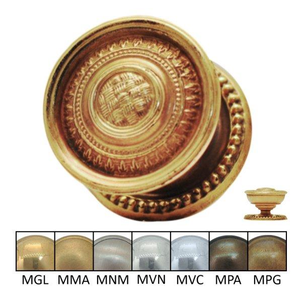 Möbelknopf in verschiedenen Oberflächen und D Bild1
