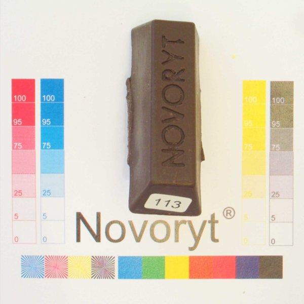 NOVORYT® Weichwachs Farbe 013 Moor Eiche 1 Stange der Serie WW003 Bild1