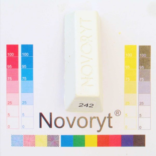 NOVORYT® Schmelzkitt - Farbe 242 5 Stangen der Serie HW003 Bild1
