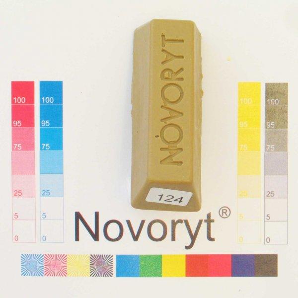 NOVORYT® Schmelzkitt - Farbe 124 Kahkigrau h 1 Stange der Serie HW003 Bild1