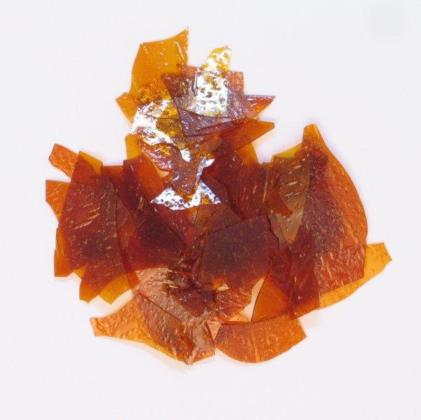 Reiner Blätterschellack lemon, 10 kg der Serie HA002 Bild1