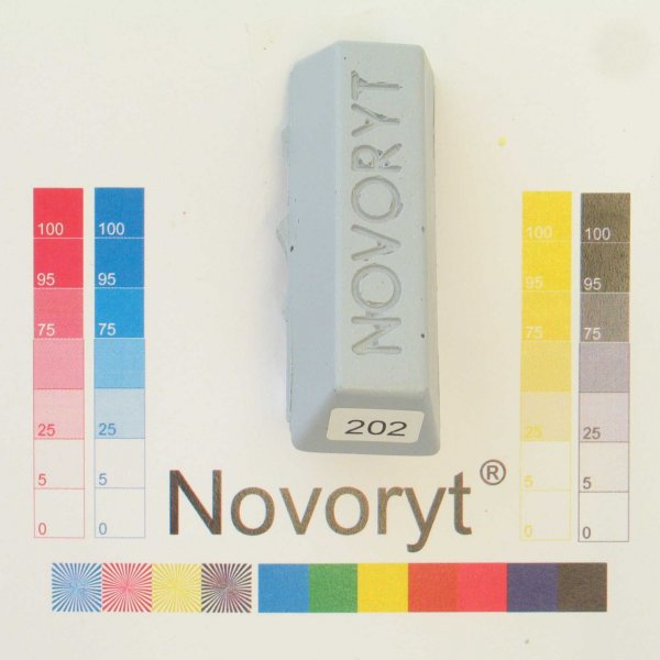 NOVORYT® Schmelzkitt - Farbe 202 5 Stangen der Serie HW003 Bild1