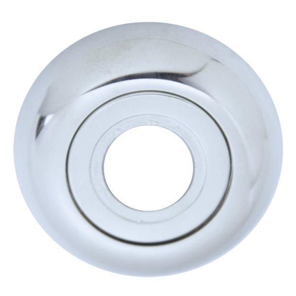 Drückerrosette , Messing verchromt mit Schutzlack Durchmesser: 48 mm. Kira Bild1