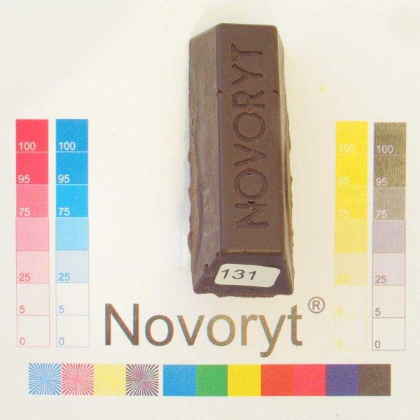 NOVORYT® Schmelzkitt - Farbe 131 Sepiabraun 5 Stangen der Serie HW003 Bild1