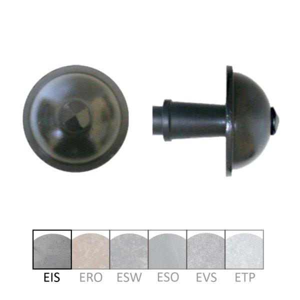 Haustürknauf in Eisen. 67x70 mm Bild1