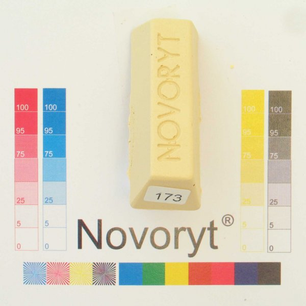NOVORYT® Schmelzkitt - Farbe 173 Vogelaugena 1 Stange der Serie HW003 Bild1