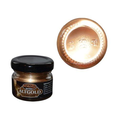 Gold-Creme 25 ml Altgold in Pastenform mit einer hohen Deckfähigkeit. Bild1