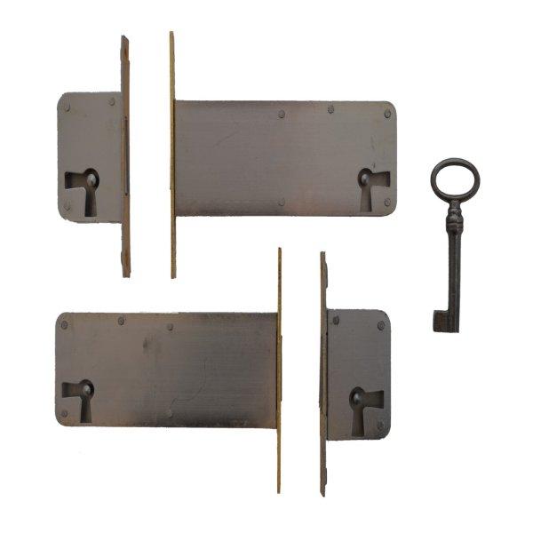 Einsteckschloss mit Messingstulp, Dornmaß 15-100 der Serie ES006 Bild1