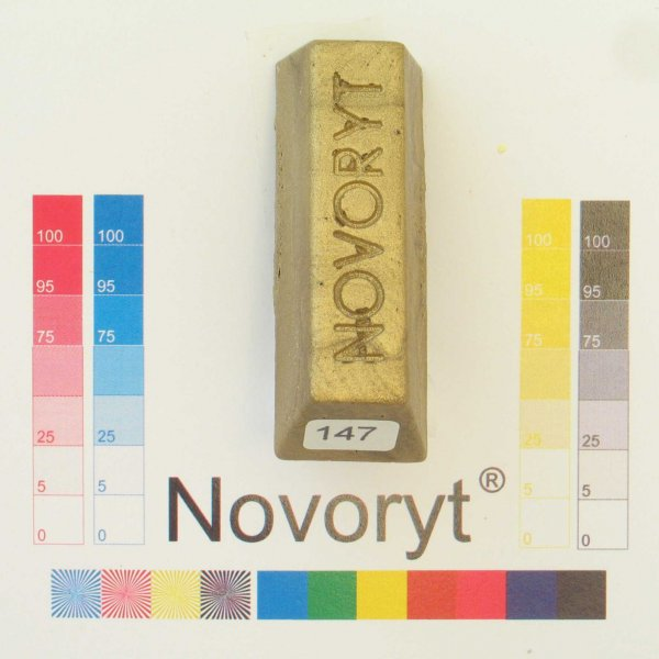 NOVORYT® Schmelzkitt - Farbe 147 gold 1 Stange der Serie HW003 Bild1