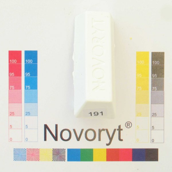 NOVORYT® Schmelzkitt - Farbe 191 5 Stangen der Serie HW003 Bild1