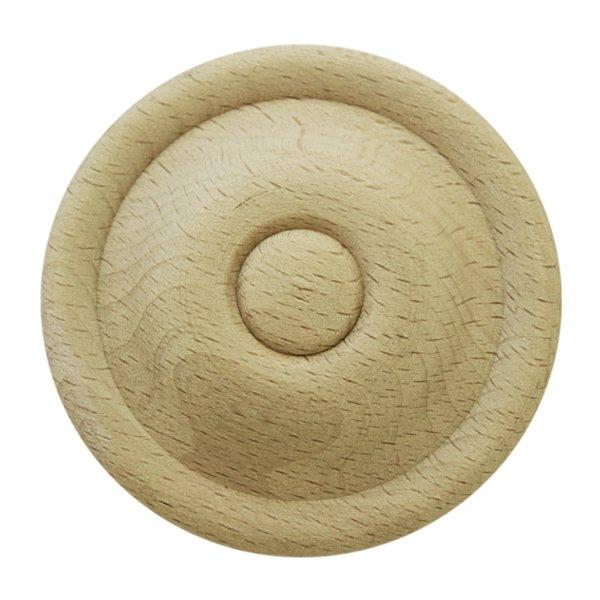 Rosette in Buche. D: 75 mm Bild1