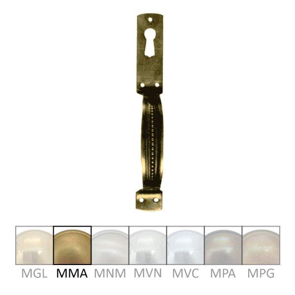 Möbelgriff, MMA, Maße B x H - 15 x 125 mm der Serie GR019 Bild1