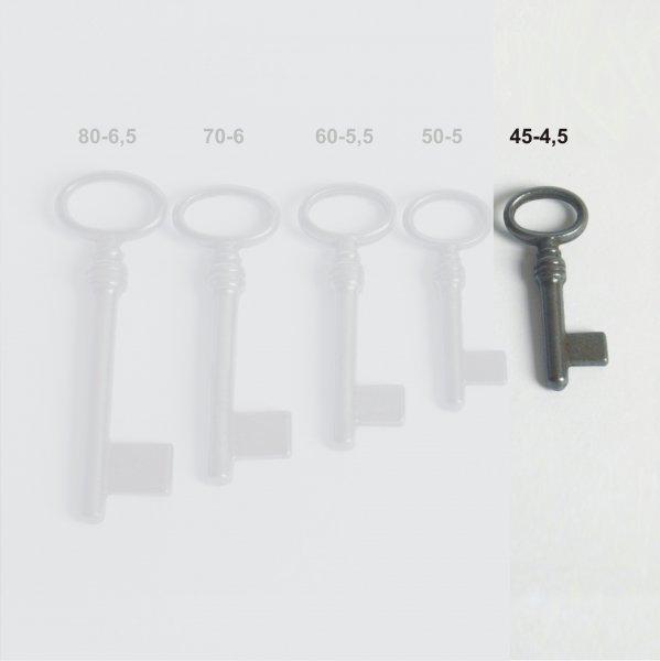 Vollschlüssel aus Eisen GL45 HD4,5 mm der Serie VS001 Bild1