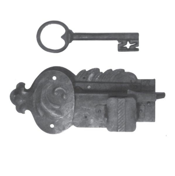 Aufschraubschloss aus Eisen, D 50 - 90mm der Serie AS100 Bild1