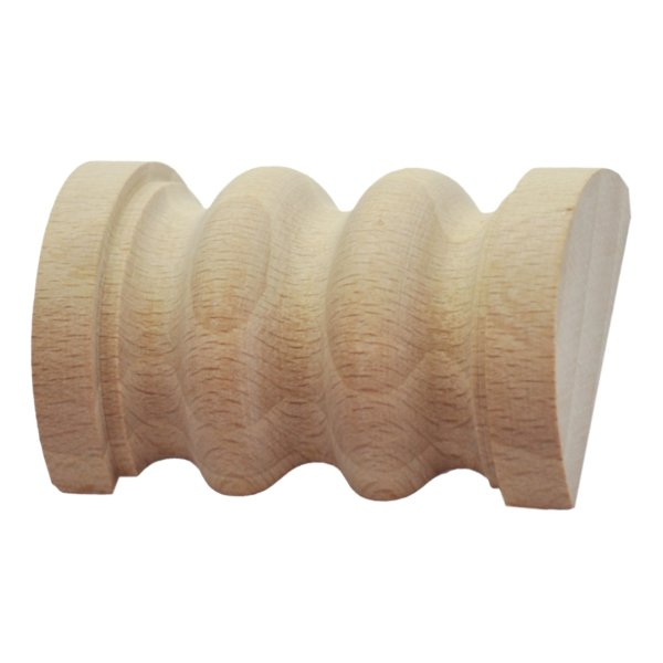 Spulenapplikation in verschiedenen Holzarten und Maßen der Serie AH081 Bild1