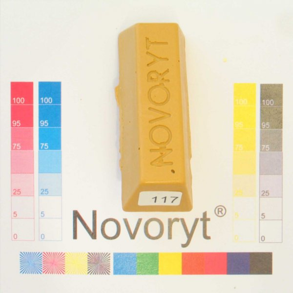 NOVORYT® Weichwachs Farbe 017 Buche mittel 1 Stange der Serie WW003 Bild1
