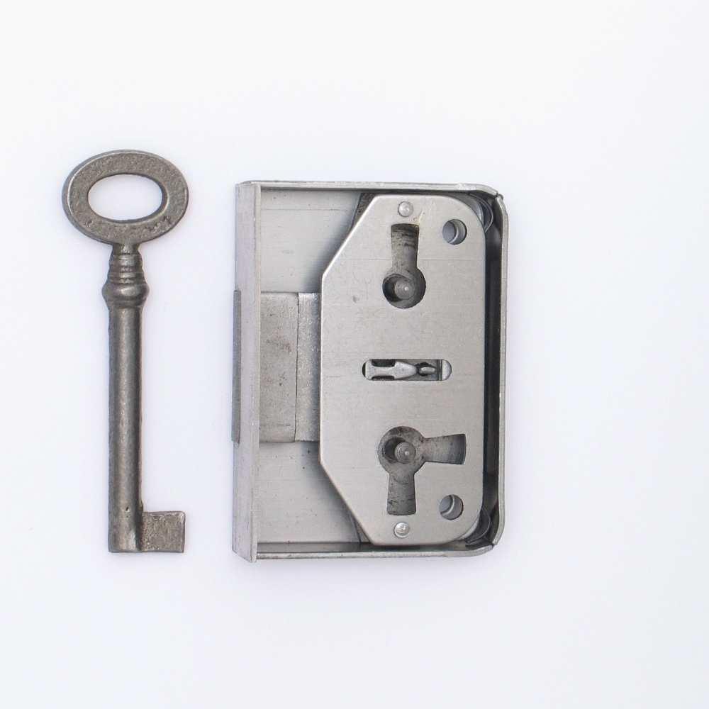 aufschraubschloss aus eisen, dornmaß 30 mm der serie as001