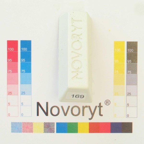 NOVORYT® Schmelzkitt - Farbe 169 signalweiß 5 Stangen der Serie HW003 Bild1