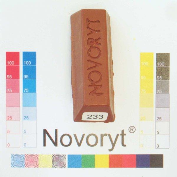 NOVORYT® Schmelzkitt - Farbe 233 kupferbraun 1 Stange der Serie HW003 Bild1