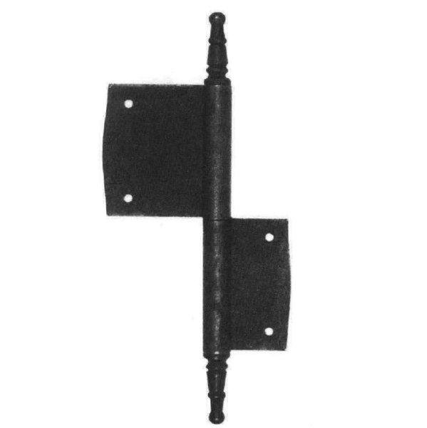 Möbelfitschband in Eisen/Messing. L: 60-100 mm Bild1