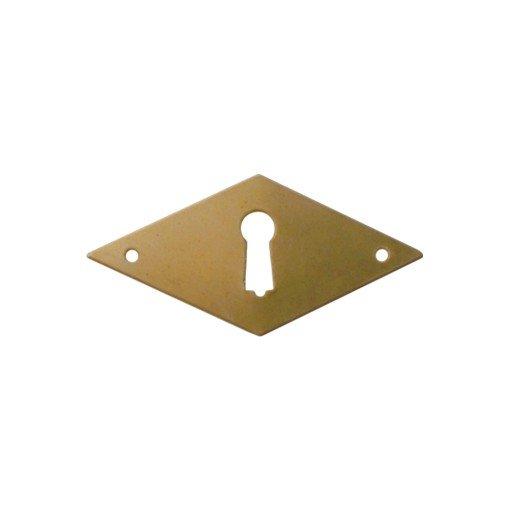 Klassizismus Möbelschild geprägt - Eisen - 70 x 35 mm der Serie KL004 Bild1