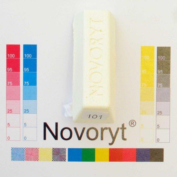 NOVORYT® Weichwachs Farbe 001 creme weiss 5 Stangen der Serie WW003 Bild1