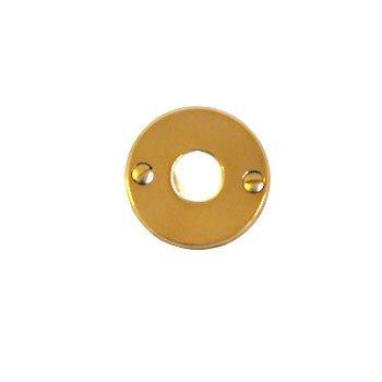 Türdrückerrosette Messing verchromt matt Durchmesser: 50 mm der Serie TR108 Bild1
