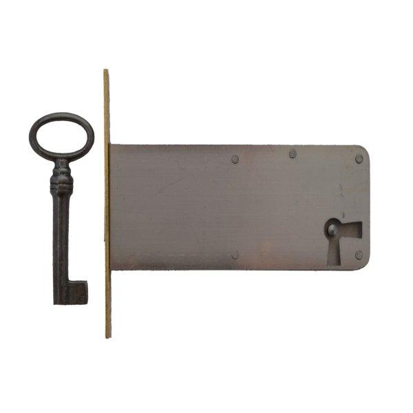 Einsteckschloss Messingstulp Dornmaß 70 mm Rechts der Serie ES006 Bild1