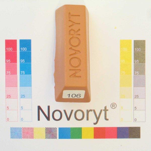 NOVORYT® Weichwachs Farbe 006 Birnbaum 5 Stangen der Serie WW003 Bild1