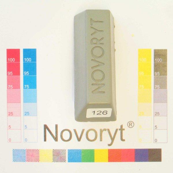 NOVORYT® Schmelzkitt - Farbe 126 Staubgrau 1 Stange der Serie HW003 Bild1