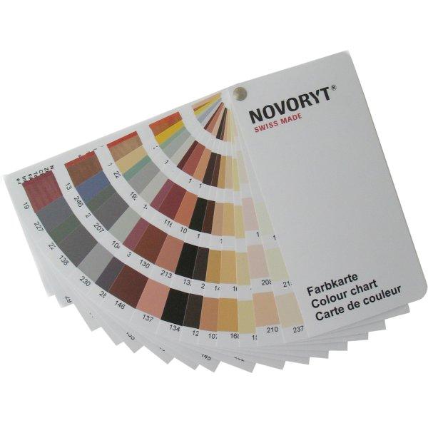 NOVORYT® Farbkarte der Serie Bild1