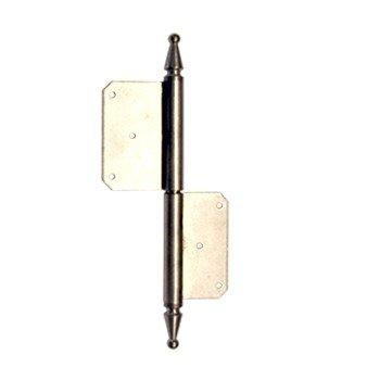 Türfitschenband in Eisen/Messing. GL: 160-180 mm Bild1