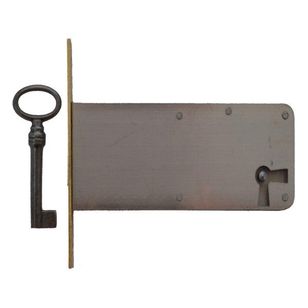 Einsteckschloss Messingstulp Dornmaß 90 mm Rechts der Serie ES006 Bild1