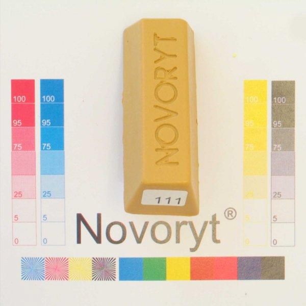 NOVORYT® Weichwachs Farbe 011 Eiche natur 5 Stangen der Serie WW003 Bild1