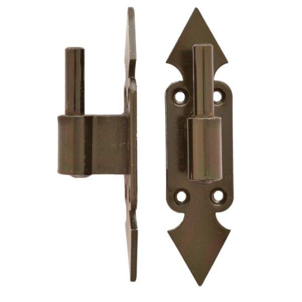 Plattenkloben, Dorn 10 mm, Abstand B = 15 mm der Serie FB001 Bild1