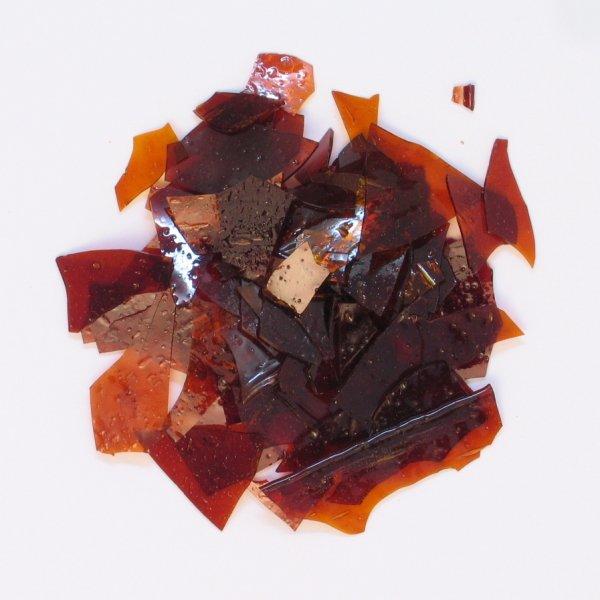 Reiner Blätterschellack rubin, 5 kg der Serie HA001 Bild1