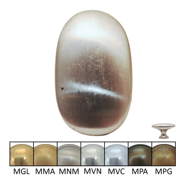Möbelknopf in verschiedenen Maßen und Oberflächen Bild1