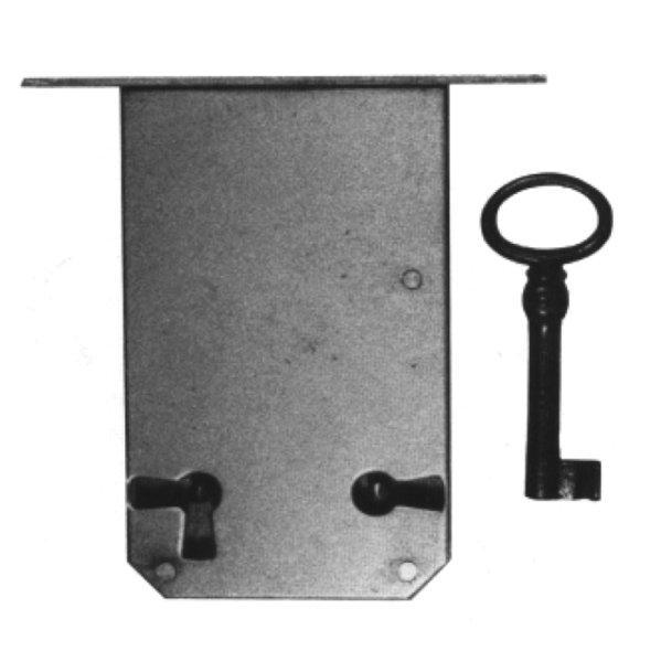 Einsteckschloss aus Eisen, D 110 mm, der Serie ES009 Bild1