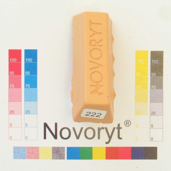 NOVORYT® Schmelzkitt - Farbe 222 1 Stange der Serie HW003 Bild1
