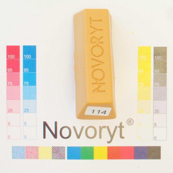 NOVORYT® Weichwachs Farbe 014 Kirschbaum hel 5 Stangen der Serie WW003 Bild1