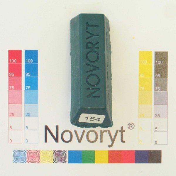 NOVORYT® Schmelzkitt - Farbe 154 Blaugrün 1 Stange der Serie HW003 Bild1