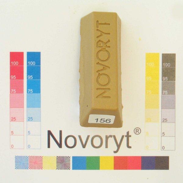 NOVORYT® Schmelzkitt - Farbe 156 ockergelb 5 Stangen der Serie HW003 Bild1