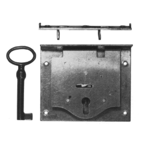 Einlassschloss aus Eisen, D 15 - 50 mm der Serie EL005 Bild1